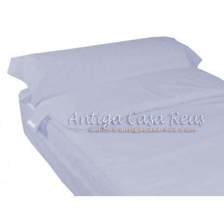 Saco nórdico ajustable cama 70-80-90 AZUL CIELO