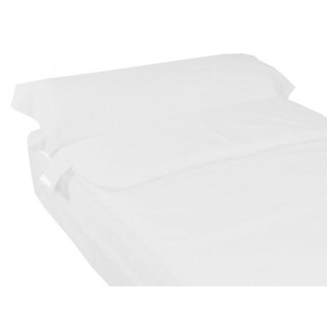 Saco nórdico ajustable cama 70-80-90 BLANCO NIEVE